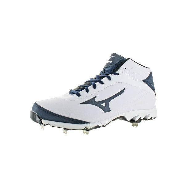 new products 847d2 f5032 Mizuno Mens 9 Spike Vapor Elite 7 Mid Cleats Baseball Trainer