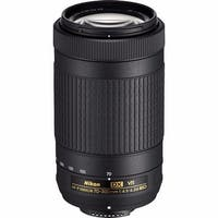 Nikon AF-P DX NIKKOR 70-300mm f/4.5-6.3G ED VR Lens - Black