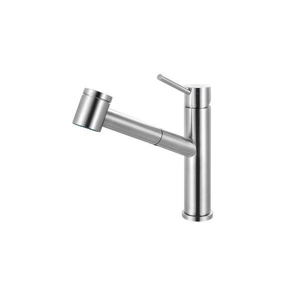 Franke FFPS34 Steel High-Arc Pullout Spray Bar Faucet