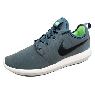 Nike Men's Roshe Two 2 SE Hasta/Anthracite-Ghost Green 859543-300