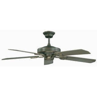 "Concord 52FQ5 5 Blade Indoor 52"" Ceiling Fan with Blades Included from the French Quarter Collection"
