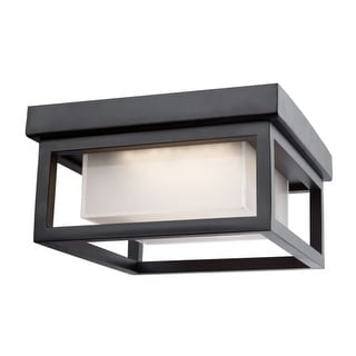 "Artcraft Lighting AC9136 Overbrook Single Light 8-1/4"" Wide Integrated LED Outdoor Flush Mount Ceiling Fixture"