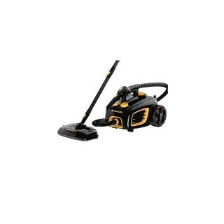 McCulloch MC1375HD Heavy Duty Canister Steam Cleaner - Black