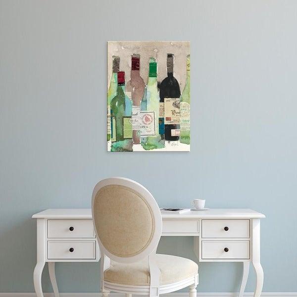 Easy Art Prints Samuel Dixon's 'Red or White II' Premium Canvas Art