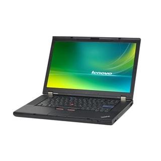 Lenovo ThinkPad T510 15.6-inch 2.4GHz Core i5 4GB RAM 320GB HDD Windows 10 Laptop (Refurbished)