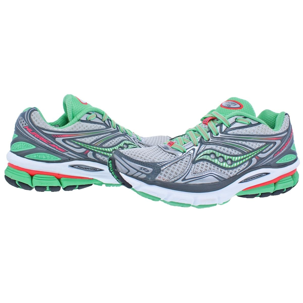 2e765dfb Shop Saucony Womens Hurricane 16 Running, Cross Training Shoes Sauc-Fit  Power Grid - 6 medium (b,m) - Free Shipping Today - Overstock - 22320920
