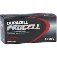 Duracell 12Pk 9V Procell Battery 85695 Unit: BOX