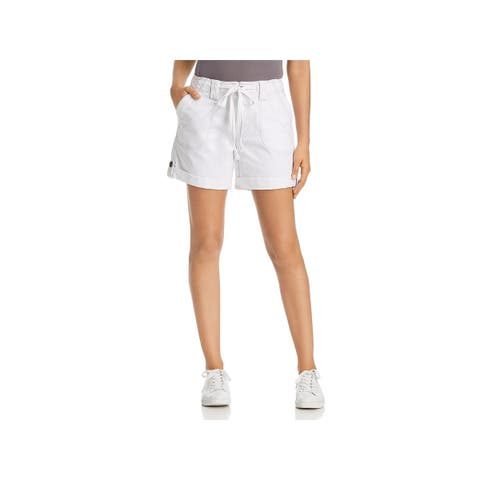 Jag Jeans Womens Adeline Shorts Relaxed Fit Mid-Rise