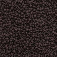 Toho Round Seed Beads 15/0 46F 'Opaque Frosted Oxblood' 8g