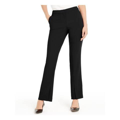 ALFANI Womens Black Solid Boot Cut Pants Size 16