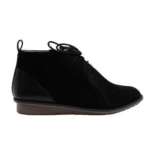 Link to ED Ellen DeGeneres Womens WALHALA Leather Round Toe Ankle Fashion Boots Similar Items in Women's Shoes