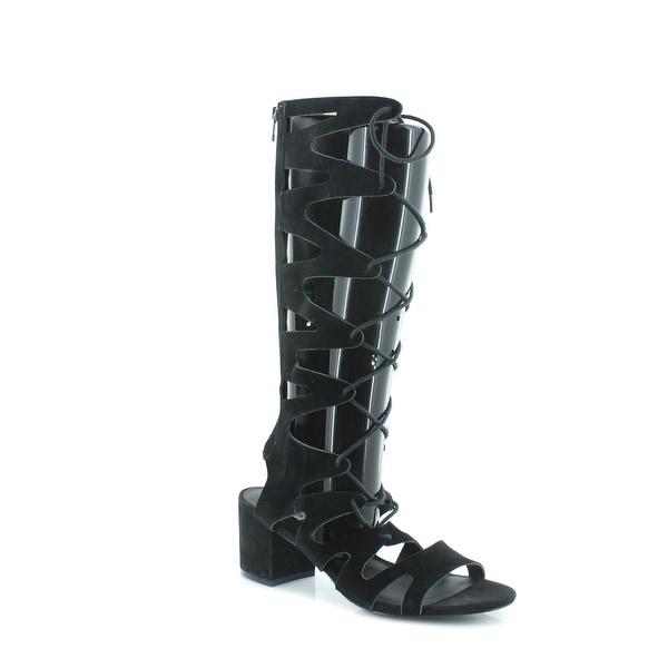 Steve Madden Lorraine Women's Sandals & Flip Flops Black - 10