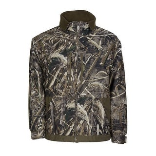 DRAKE Waterfowl Men's MST Waterfowl Fleece Lined Full Zip Hunting Jacket Large