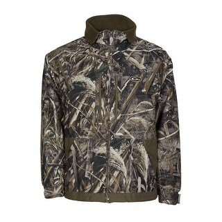 Drake Waterfowl Mens MST Waterfowl Fleece Lined Full Zip Hunting Jacket XL X-Large