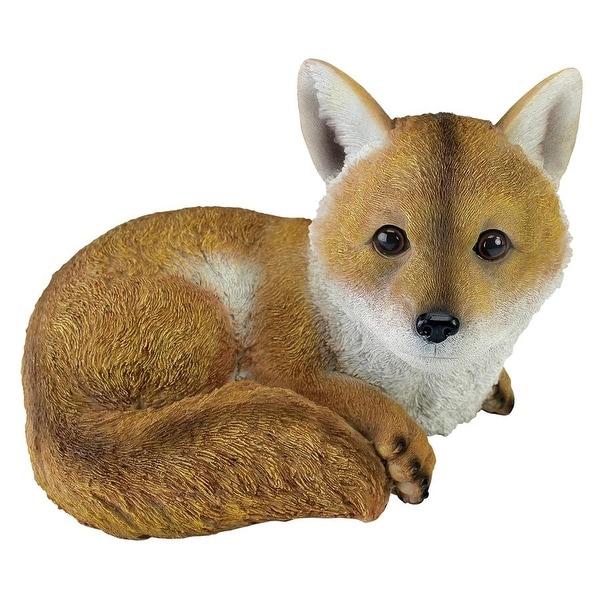 Design Toscano Diablo the Baby Red Fox Statue