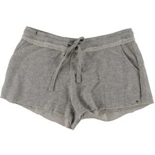 Guess Womens Embellished Drawsting Casual Shorts - XL