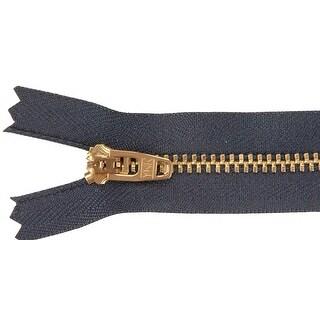 "Jean Zipper 9""-Navy"