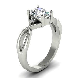 Link to 1.05 CT Oval & Round Cut Diamond Engagement Ring 1.00 Ct Center 14KT Similar Items in Wedding Rings