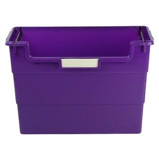 Desktop Organizer Purple