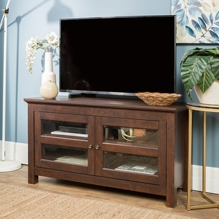 Copper Grove Macaulay 44-inch Traditional Brown TV Stand Console
