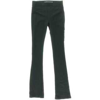 Tinseltown Womens Juniors Baby Boot Ponte Bootcut Pants - M
