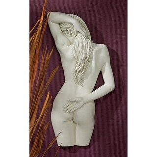 SWEET SURRENDER PLAQUE DESIGN TOSCANO nude woman woman wall art