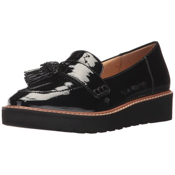a43c3263b4c2 Shop Naturalizer Womens August Leather Almond Toe Loafers - On Sale ...