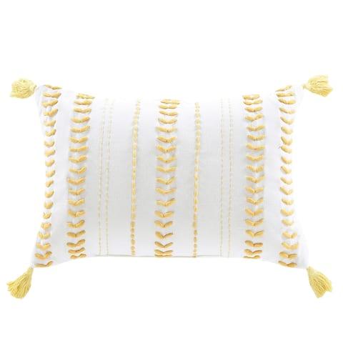 Brielle Home Milo Textured Throw Pillow