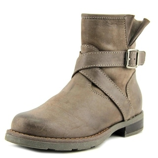 Equerry 5115   Round Toe Leather  Ankle Boot