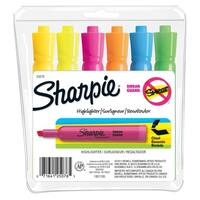 Sharpie Accent Tank Style Highlighter, Chisel Tip, Assorted Color, Pack of 6