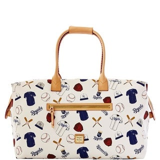 Dooney & Bourke MLB Royals Medium Duffle (Introduced by Dooney & Bourke at $480 in Feb 2014) - White