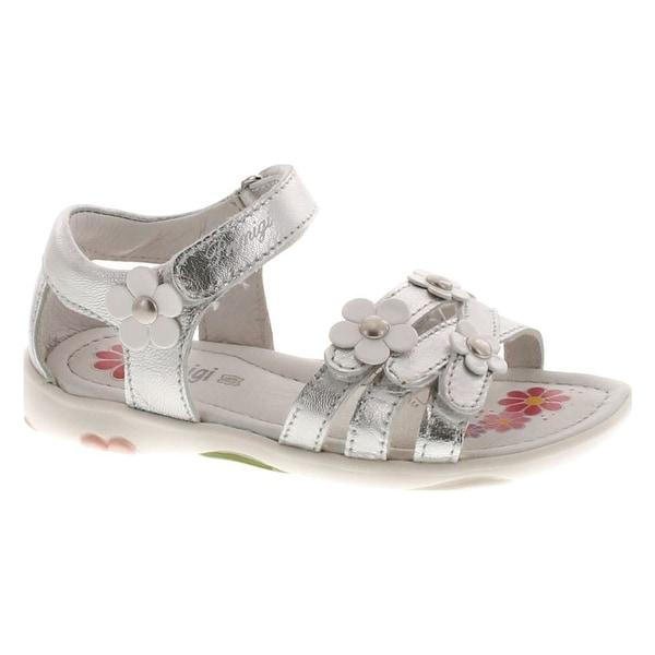 Primig Girls I14279 Cute European Fashion Sandals - Silver