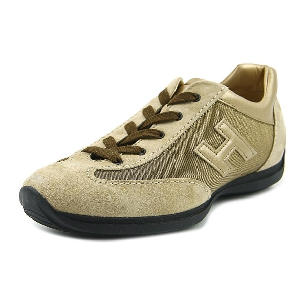 1320c5925e Hogan Hi-Sprint Laced H Canaletto Women Leather Gold Fashion Sneakers