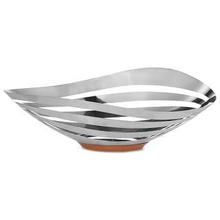 Nambè MT1192 Pulse Bread & Fruit Bowl - Silver