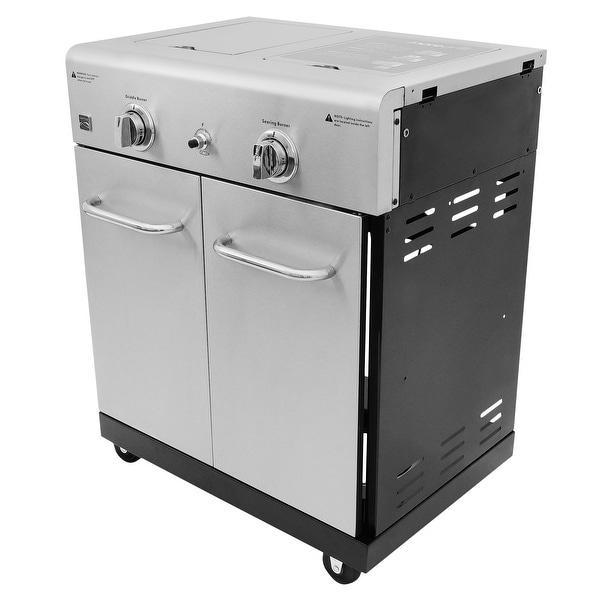 Kenmore 2-Burner Cooking Station Module. Opens flyout.