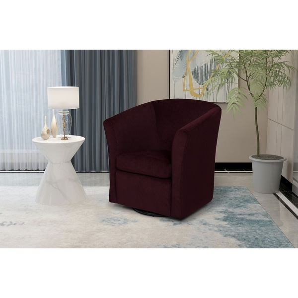 Lana Upholstered Swivel Armchair. Opens flyout.