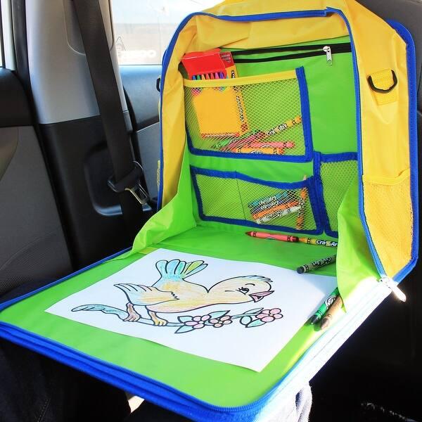 Shop Skiva Kids Travel Tray And Backseat Car Organizer Children S
