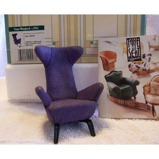 Take a Seat - Slope Wingback by raind - Blue