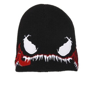 Marvel Venom Costume Slouchy Hat - Black