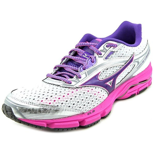 Mizuno Wave Legend 3 Women Round Toe Synthetic White Running Shoe