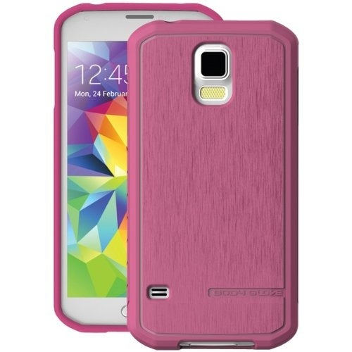 BodyGlove Satin Case for Samsung Galaxy S5 (Pink)