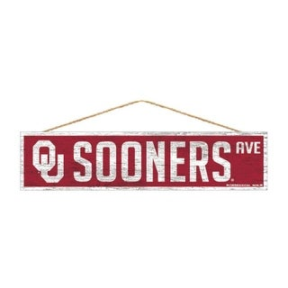 Link to Oklahoma Sooners Sign 4x17 Wood Avenue Design Similar Items in Fan Shop