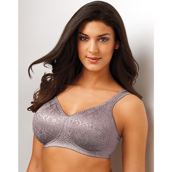 cf84eb915e6ea Shop Playtex 18 Hour Ultimate Lift   Support Wirefree Bra - Size - 38B -  Color - Warm Steel - Grey - Free Shipping On Orders Over  45 - Overstock -  13898801