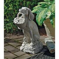 Design Toscano Man's Best Friend Dog Statue
