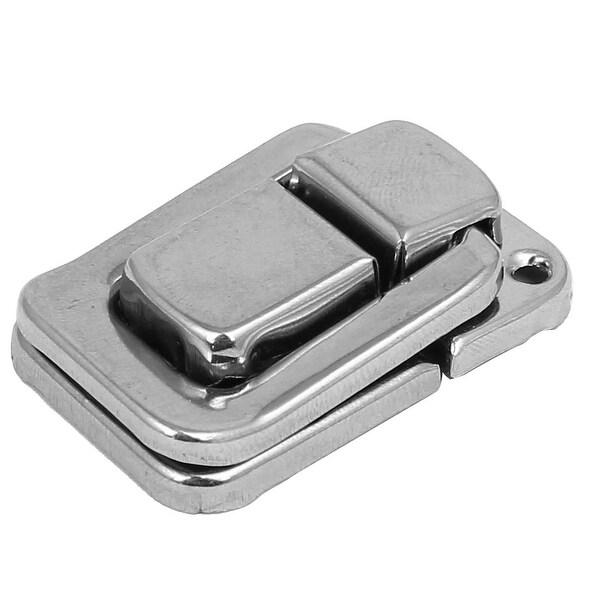 Suitcase Briefcase Handbag Alloy Toggle Latch Hasp Lock Hardware 37mm Long