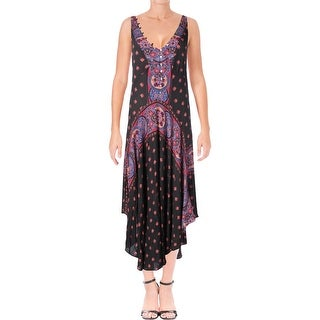 Free People Womens Slip Dress Printed A-Line - S