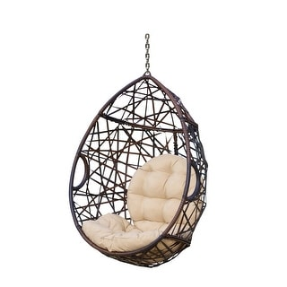 Link to Cayuse Teardrop Hang Chair (Stand Not Included) Similar Items in Patio Furniture