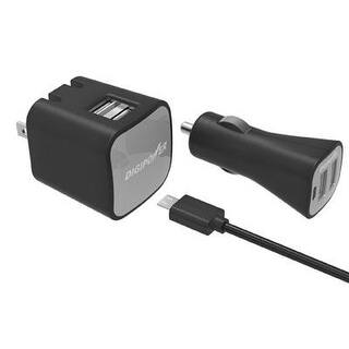Digipower Is-Pk2dm Instasense(Tm) 2.4-Amp Dual-Port Usb Car Charger & 2.4-Amp Dual-Port Usb Wall Charger|https://ak1.ostkcdn.com/images/products/is/images/direct/13b92ecbf756041b4278749f3108d490bb382cf7/Digipower-Is-Pk2dm-Instasense%28Tm%29-2.4-Amp-Dual-Port-Usb-Car-Charger-%26-2.4-Amp-Dual-Port-Usb-Wall-Charger.jpg?impolicy=medium