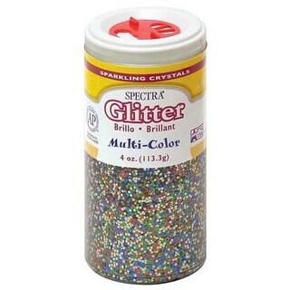 Pacon - Spectra Glitter Sparkling Crystals - 4 oz. Jar - Multi-Color