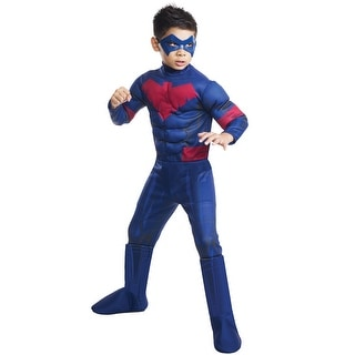 Rubies Deluxe Nightwing Child Costume - Blue